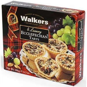 Walker's Shortbread Co. Walkers 4 Luxury Ecclefechan Tarts