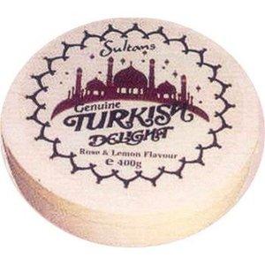 Sultans Sultan's Rose & Lemon Turkish Round Box 350g
