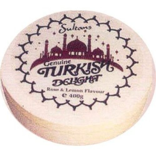 Sultans Sultan's Rose & Lemon Turkish Round Box