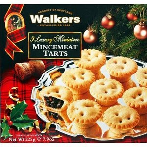 Walker's Shortbread Co. Walkers 9 Miniature Mincemeat Tarts