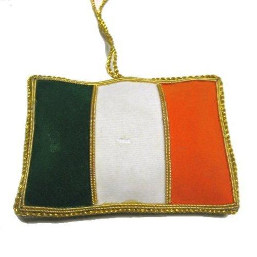 St. Nicolas St. Nicolas Irish Flag Ornament