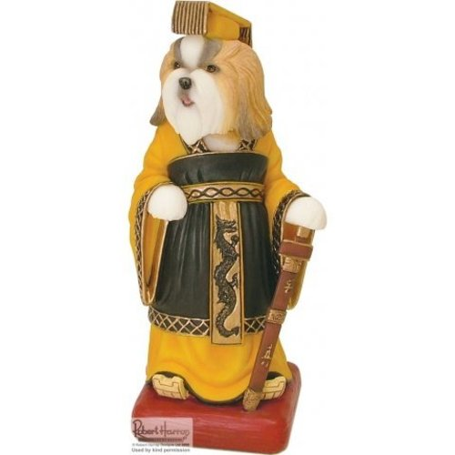 Robert Harrop Harrop's Gold and White Shih Tzu Chinese Emperor