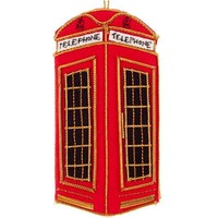 St. Nicolas Telephone Booth Ornament