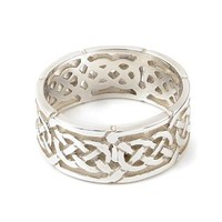 Silver Celtic Knot Ring R132