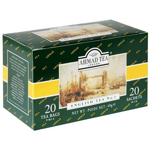 Ahmad Tea Ahmad English Tea No. 1 20s