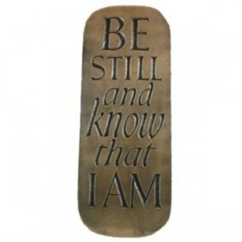Wild Goose Wild Goose 'Be Still and Know That I am' Plaque