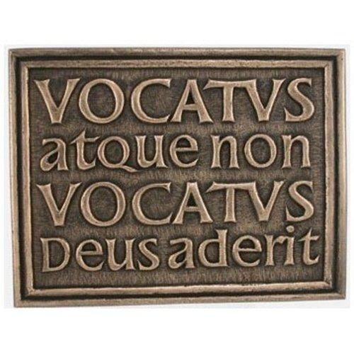 Wild Goose Wild Goose 'Vocatus atque non Vocatus Deus Aderit' plaque