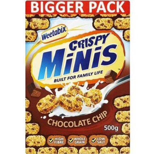 Weetabix Chocolate Chip mini's
