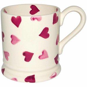 Emma Bridgewater Bridgewater 1/2 Pint Mug - Pink Hearts
