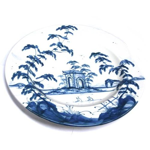 Isis Ceramics Isis Blue English Garden - The Ruin - Large Plate