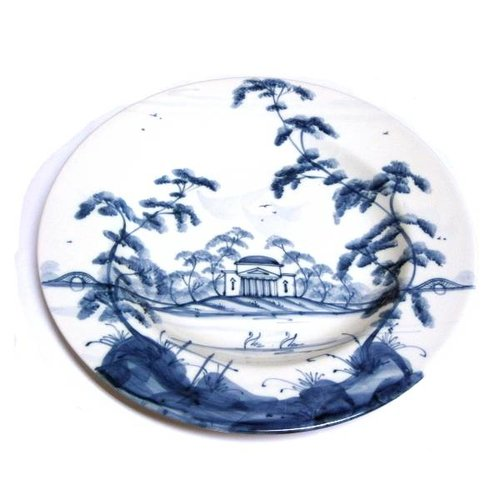 Isis Ceramics Isis Blue English Garden - The Temple - Tea Plate