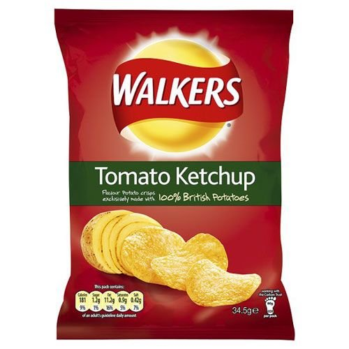 Walker's Walkers Tomato Ketchup Crisps
