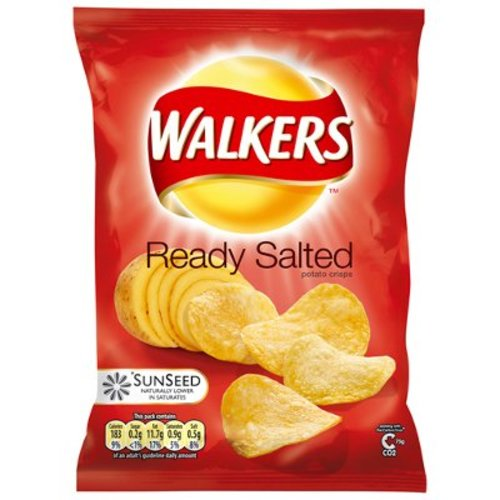 Walker's Walkers Ready Salted Crisps