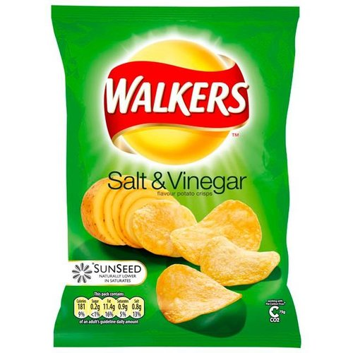 Walker's Walkers Salt and Vinegar Crisps