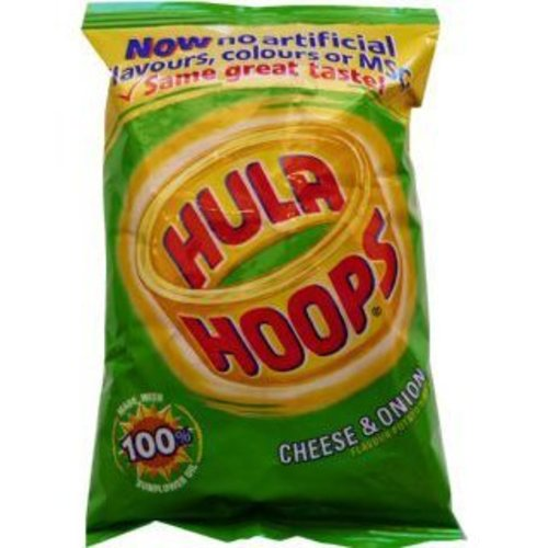 Hula Hoops Cheese & Onion