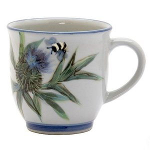 Highland Stoneware Highland Stoneware Thistle 425ml Mug