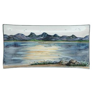 Highland Stoneware Highland Stoneware Landscape 34cm Rectangle Dish