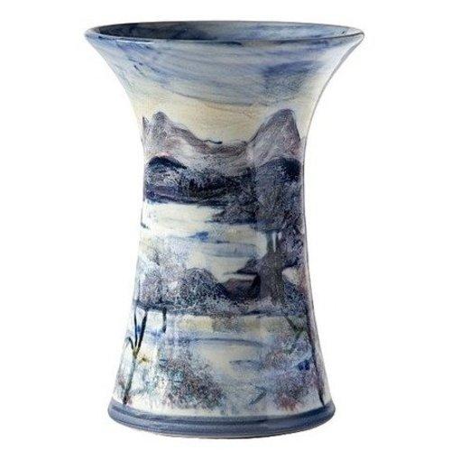 Highland Stoneware Highland Stoneware Frosty Morning Small Cylinder Vase