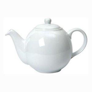 London Pottery White 6 Cup Teapot