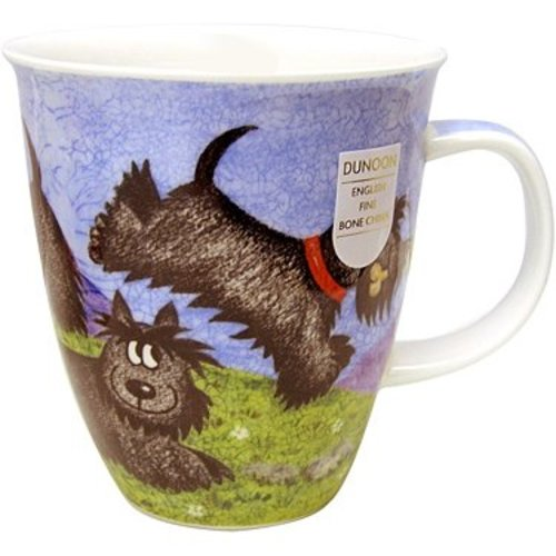 Dunoon Nevis Highland Animals Scottie Mug