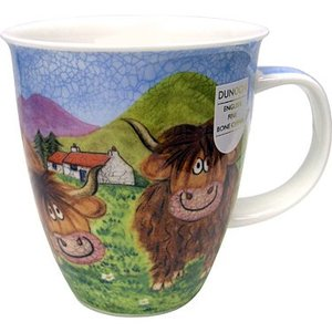 Dunoon Nevis Highland Animals Cow Mug