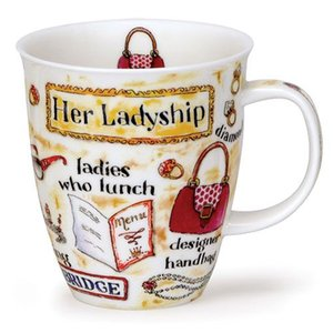 Dunoon Nevis Lords & Ladies Ladyship Mug