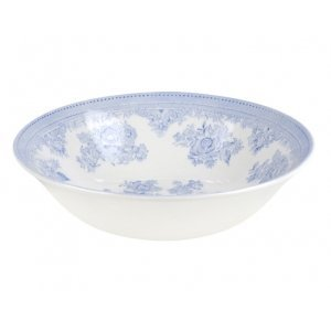 Burleigh Pottery Asiatic Pheasants Blue Cereal Bowl