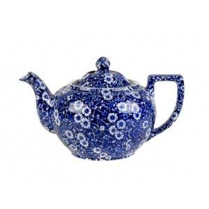 Burleigh Pottery Calico Blue Small Teapot
