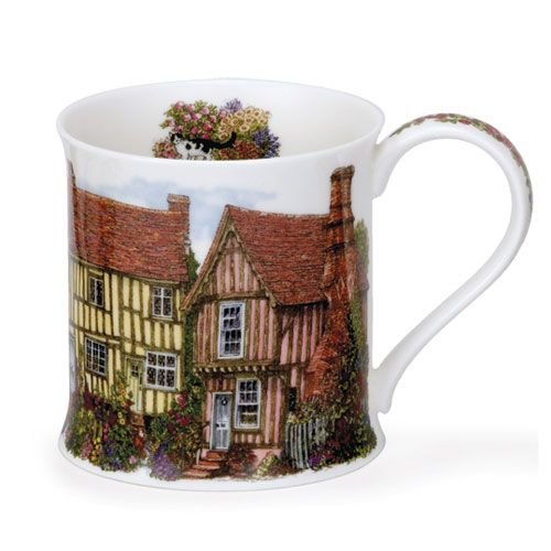 Dunoon Wessex Country Cottages Timber Mug