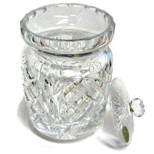 Heritage Crystal Heritage Crystal Cathedral Biscuit Barrel