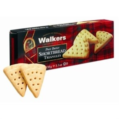 Walker's Shortbread Co. Walkers Pure Butter Shortbread Triangles
