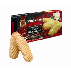 Walker's Shortbread Co. Walkers Pure Butter Vanilla Shortbread