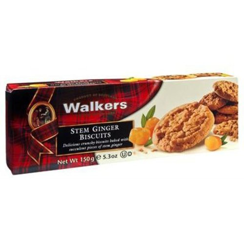 Walker's Shortbread Co. Walkers Stem Ginger Biscuits