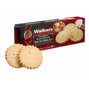 Walker's Shortbread Co. Walkers Pure Butter Stem Ginger Shortbread