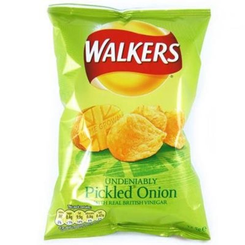 Walker's Walkers Pickled Onion Crisps