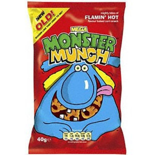 Walker's Walkers Monster Munch Flaming Hot