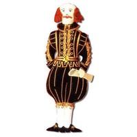 St. Nicolas William Shakespeare Ornament