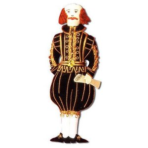 St. Nicolas St. Nicolas William Shakespeare Ornament
