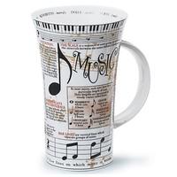 Dunoon Glencoe Music Mug