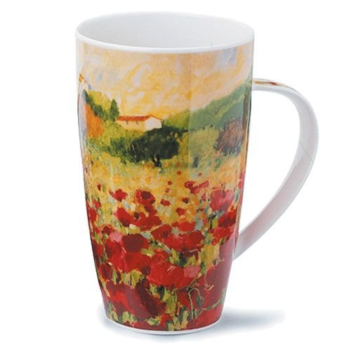 Dunoon Dunoon Henley Paysage Poppies Mug