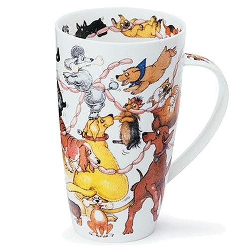 Dunoon Henley Dogs Frolics Mug