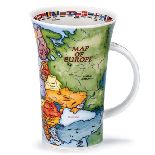 Dunoon Dunoon Glencoe Map of Europe Mug