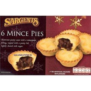 Sargents Sargents 6 Mince Pies