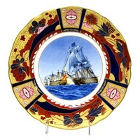 Royal Worcester Nelson Collection - Battle of Cape St. Vincent
