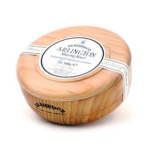 D R Harris D R Harris Arlington Shaving Soap in a Beech Bowl 100g