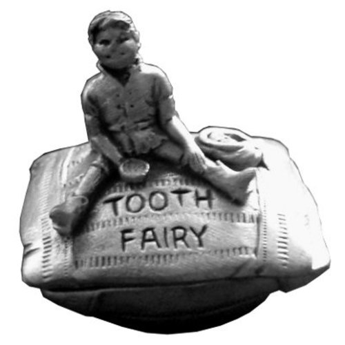 A E Williams A E Williams Pewter Tooth Fairy Box - Boy