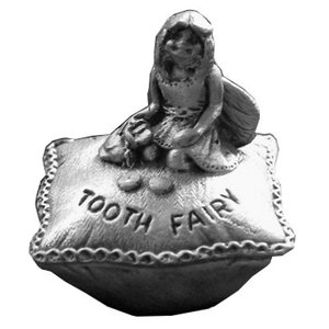 A E Williams Pewter Tooth Fairy Box - Girl