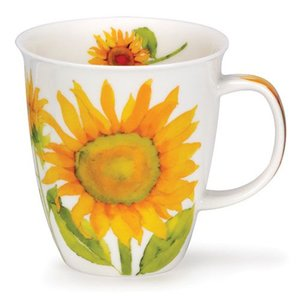 Dunoon Nevis Flora Sunflower Mug