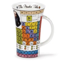 Dunoon Glencoe Periodic Tables Mug