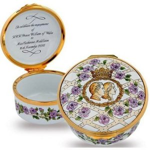 Halcyon Days Halcyon Days Royal Engagement Enamel Box